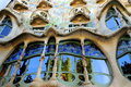 Casa Batllo facade, Spain-Barcelona Royalty Free Stock Photos