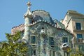 Casa batllo was built by antoni gaudi between and was commissioned by the textile industrialist josep the facade is a Stock Photos