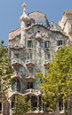Casa Batlo Facade Barcelona Spain Royalty Free Stock Images