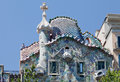 Casa Batlo Facade Barcelona Spain Royalty Free Stock Photos