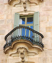 Casa Calvet Window Detail Royalty Free Stock Image