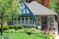 Casa Charming Foto de Stock