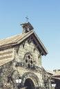 Casa de campo church beautiful small in village dominican republic Stock Photography