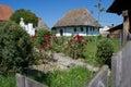 Casa de la aldea Fotografía de archivo