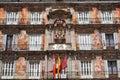 Casa de la Panaderia on Plaza Mayor in Madrid, Spa