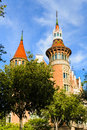 Casa de les Punxes in Barcelona, Spain Royalty Free Stock Photography