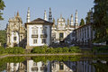 Casa de mateus is masterpiece of portuguese baroque architecture Stock Photography