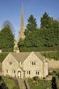 Casa de piedra de Cotswold Fotos de archivo libres de regalías