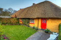 Casa del cottage in Adare Immagine Stock