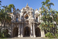 Casa del prado at balboa park san diego a view of structure in Royalty Free Stock Photo