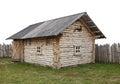 Casa di legno antica Fotografia Stock Libera da Diritti