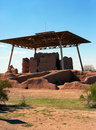 Casa grande ruins national monument of the hohokam indians in arizona usa Stock Image