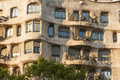 Casa la pedrera in barcelona spain Royalty Free Stock Images