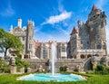 Casa Loma castle in Toronto, Canada Royalty Free Stock Photo
