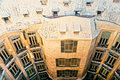 Casa Mila, Barcelona, spain. Royalty Free Stock Images