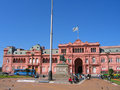 Casa rosada in buenos aires argentina september pink house on september la is the official seat of the Stock Images