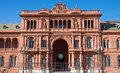 The casa rosada in buenos aires buenis argentina Royalty Free Stock Images