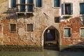 Casa veneciana tradicional Foto de archivo