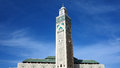 Casablanca Hassan II Mosque Minaret. Stock Images