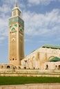 Casablanca King Hassan II Mosque Stock Images