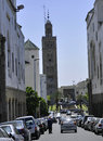 Casablanca minaret Royalty Free Stock Images