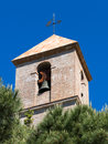Casares andalucia spain may church tower in casares spain on Stock Photography