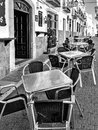 Casares andalucia spain may street scene in casares spain on Stock Images