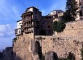 Casas Colgadas, Cuenca, Spain. Royalty Free Stock Photography