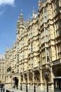 Casas del parlamento, London.U.K Fotografía de archivo libre de regalías