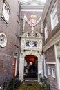 Casas na holanda de amsterdão Imagens de Stock Royalty Free