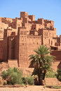 Casbah Ait Benhaddou, Morocco Royalty Free Stock Photography