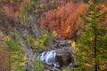 Cascada de Arripas waterfall in Ordesa valley Pyrenees Huesca Royalty Free Stock Photo