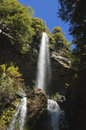 Cascada de las animas in the valley of the bars biobã o region chile Royalty Free Stock Photo