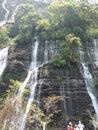 Cascada de los Chorros del Baral Royalty Free Stock Photo