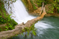 Cascadas de Agua Azul waterfall Royalty Free Stock Photo