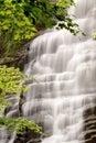 Cascade à écriture ligne par ligne de forêt Photos libres de droits