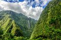 Cascade blanche reunion island cirque of salazie la Royalty Free Stock Photo