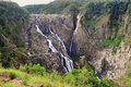 Cascade de barron falls australian cairns queensland austral Photo stock
