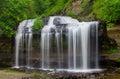 Cascade falls in osceola wisconsin Stock Image