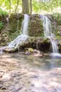 A Cascade of Little Waterfalls in Forest Krushuna, Bulgaria 7 Royalty Free Stock Photo