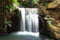Cascade water in nong nooch garden pattaya Stock Image