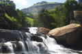 Cascades waterfall the in the royal natal national park drakensberg mountains south africa this is one of the most beautiful and Stock Images