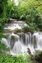 Cascata in Tailandia Fotografie Stock