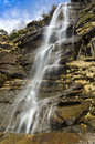 Cascate dell acquafraggia italy waterfall in valchiavenna northern Royalty Free Stock Photo