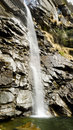 Cascate dell acquafraggia italy waterfall in valchiavenna northern Stock Photo