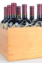 Case of Cabernet Wine Royalty Free Stock Photo
