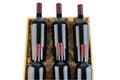 Case of Cabernet Wine Bottles Royalty Free Stock Photo