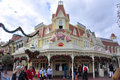 Casey's Corner Restaurant in Magic Kingdom, Disne Royalty Free Stock Photos