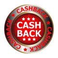Picture : Cash back icon bubble  set