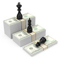 Cash king Royalty Free Stock Photo